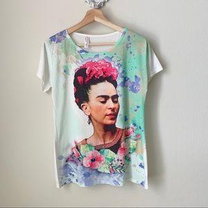Frida Kahlo graphic tee
